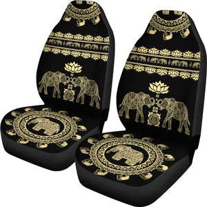 Lotus Elephant Car Seat Covers V3