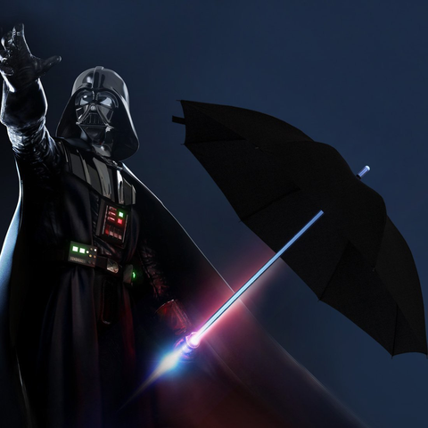 NEW | LED SABER UMBRELLA