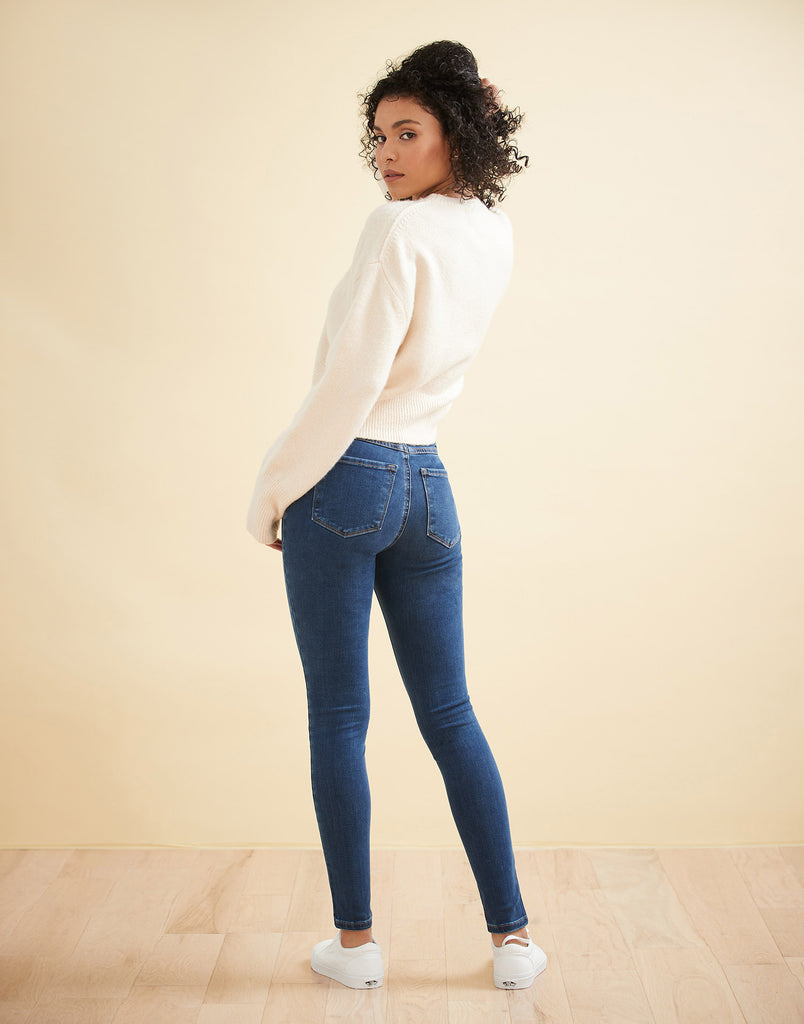 Athena Classic Rise Rachel Skinny Jeans Yoga Jeans