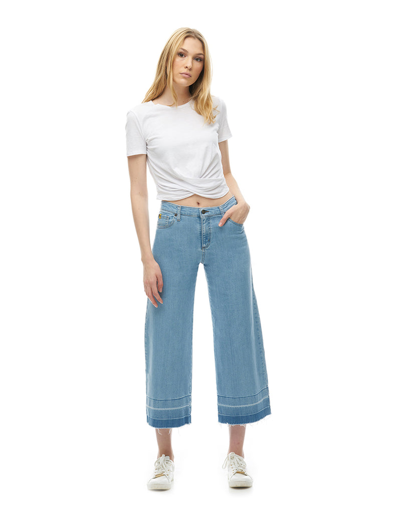 LILY WIDE LEG JEANS / Lobster Roll