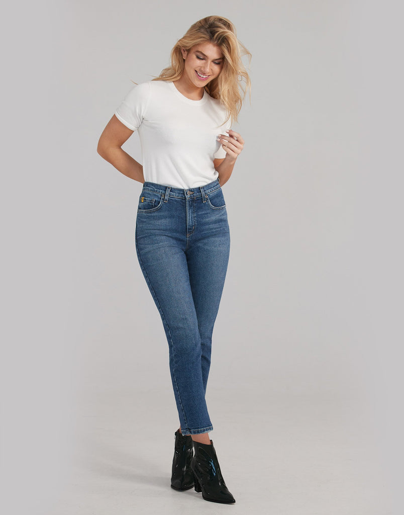 Mindful Emily Slim Jeans Yoga Jeans