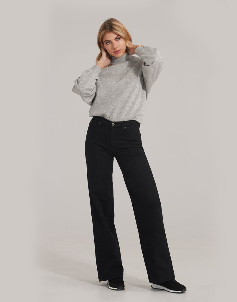 LILY WIDE LEG JEANS / Patience