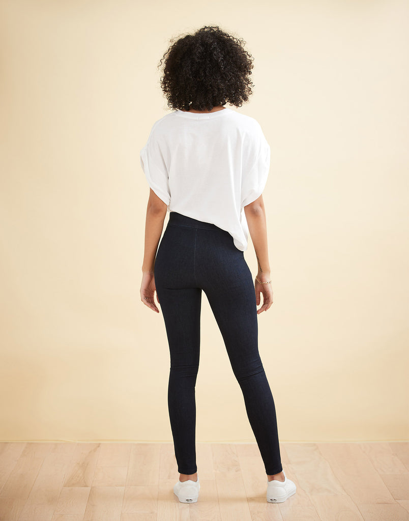 HIGH RISE / RACHEL SKINNY / PRAGUE PULL-ON / 30""