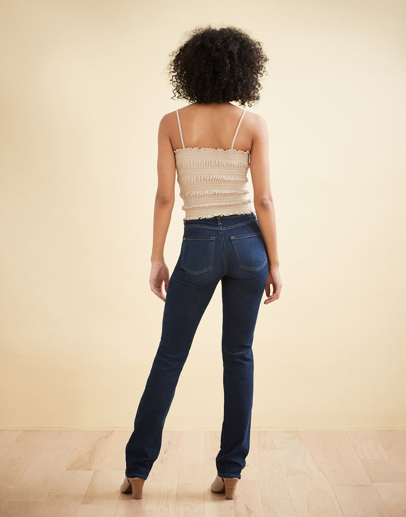 DK Indie Classic Rise Chloe Straight Jeans Yoga Jeans