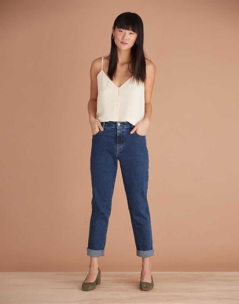 Bailey High Rise Malia Relaxed Jeans Yoga Jeans