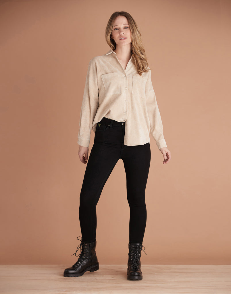 HIGH RISE / RACHEL SKINNY / BLACKOUT
