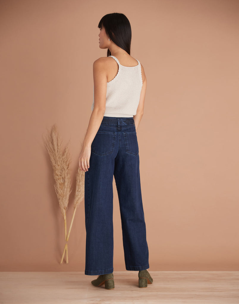 Cosmo High Rise Lily Wide Jeans Yoga Jeans