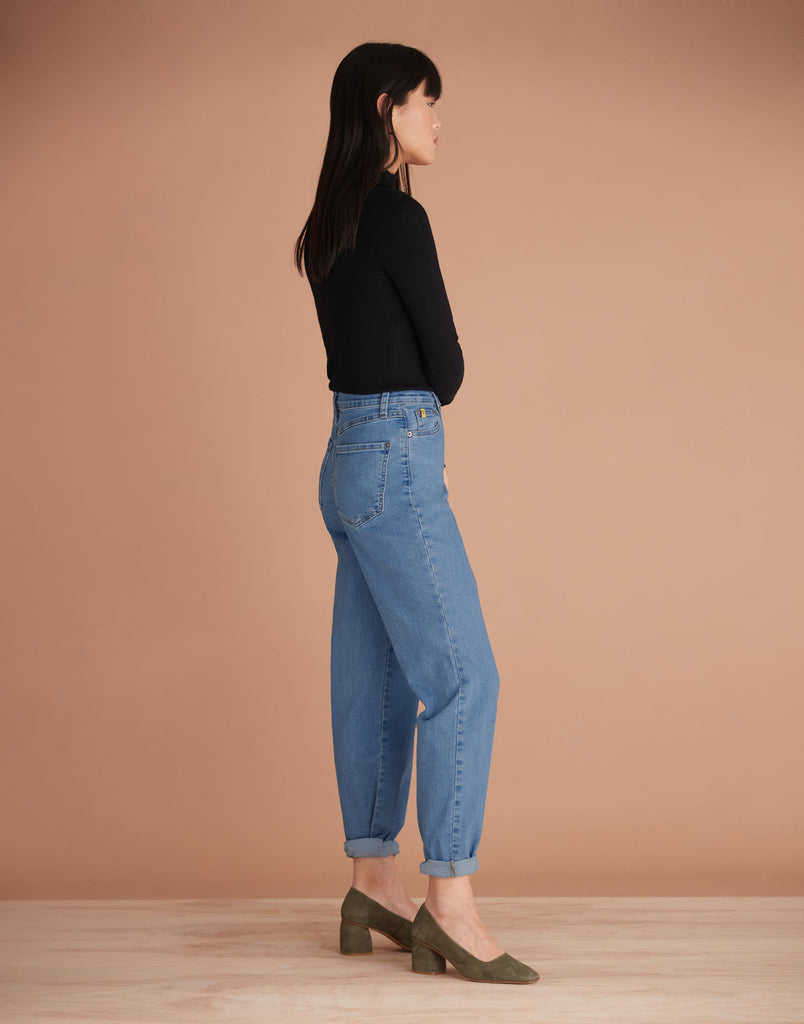 Balloon Fit Harlow High Rise Malia Relaxed Jeans Yoga Jeans