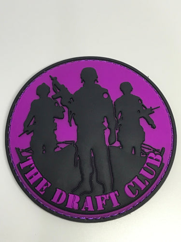 The Draft Club Collectors Edition Patches.