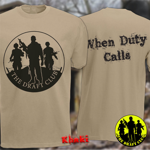 The Draft Club When Duty Calls The Draft Club T-Shirt