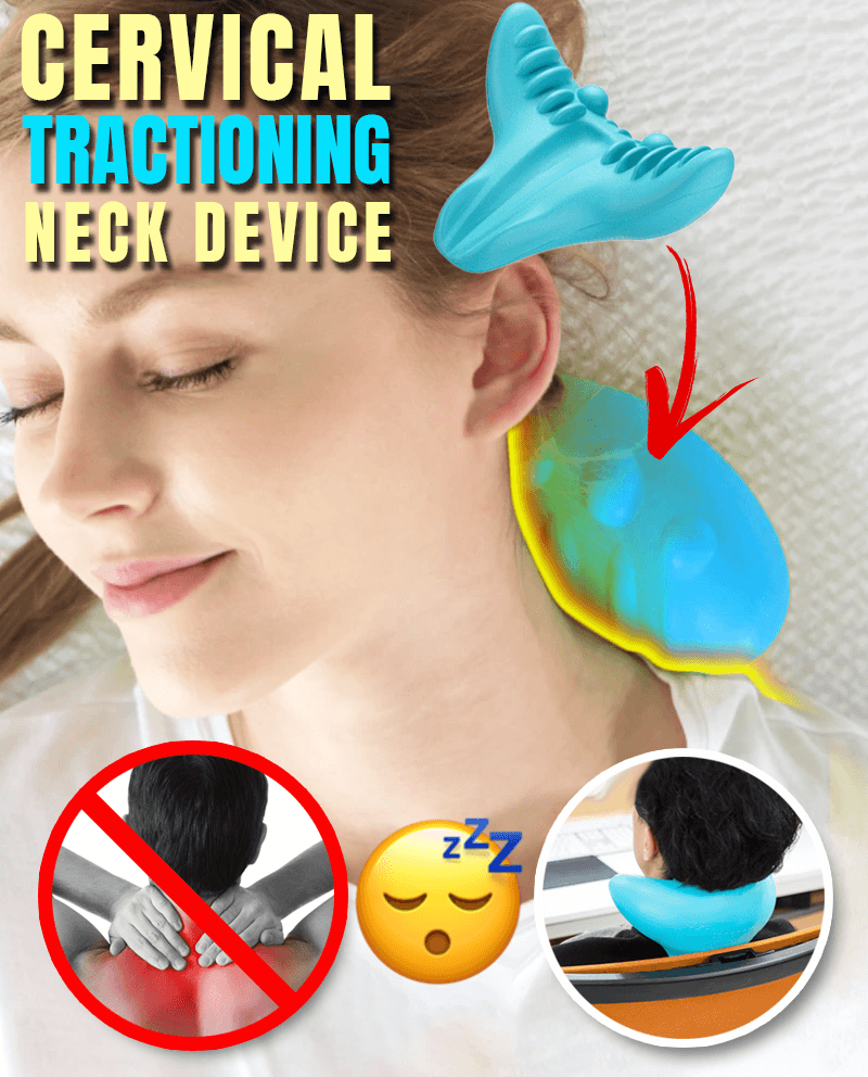 Cervical Tractioning Neck Device - LimeTrifle