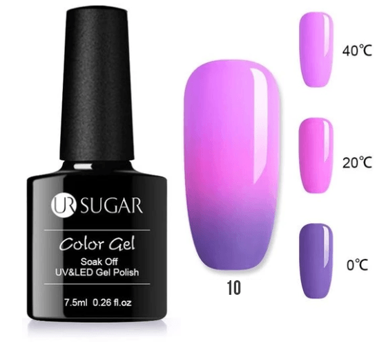 Color Changing UV Nail Gel Polish - LimeTrifle