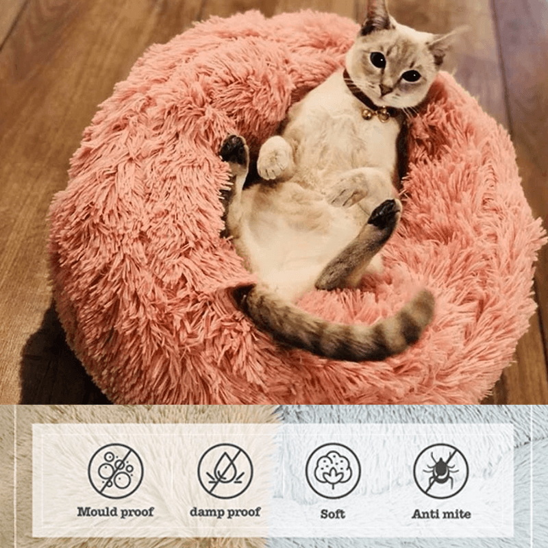 Marshmallow Cat Bed - LimeTrifle