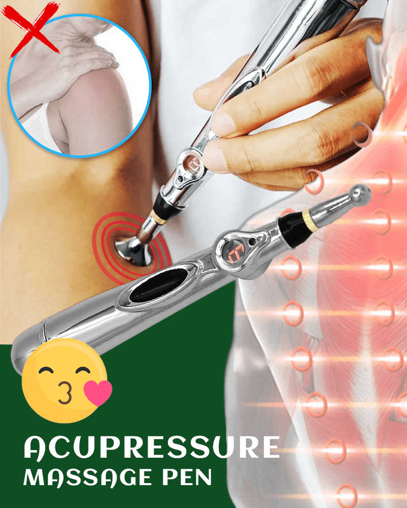 Acupressure Massage Pen - LimeTrifle