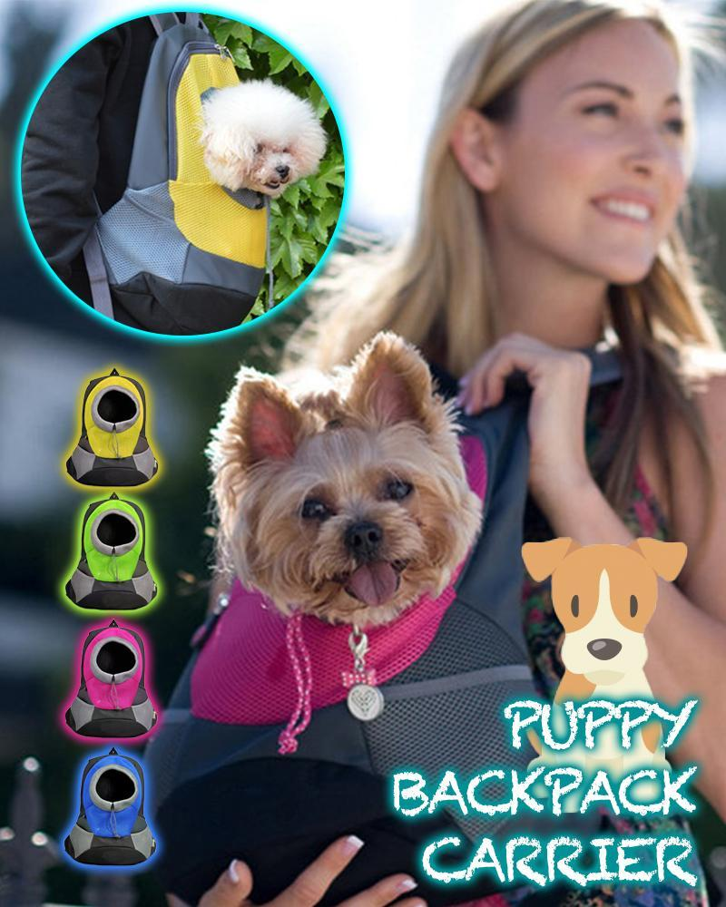 Puppy Backpack Carrier - LimeTrifle