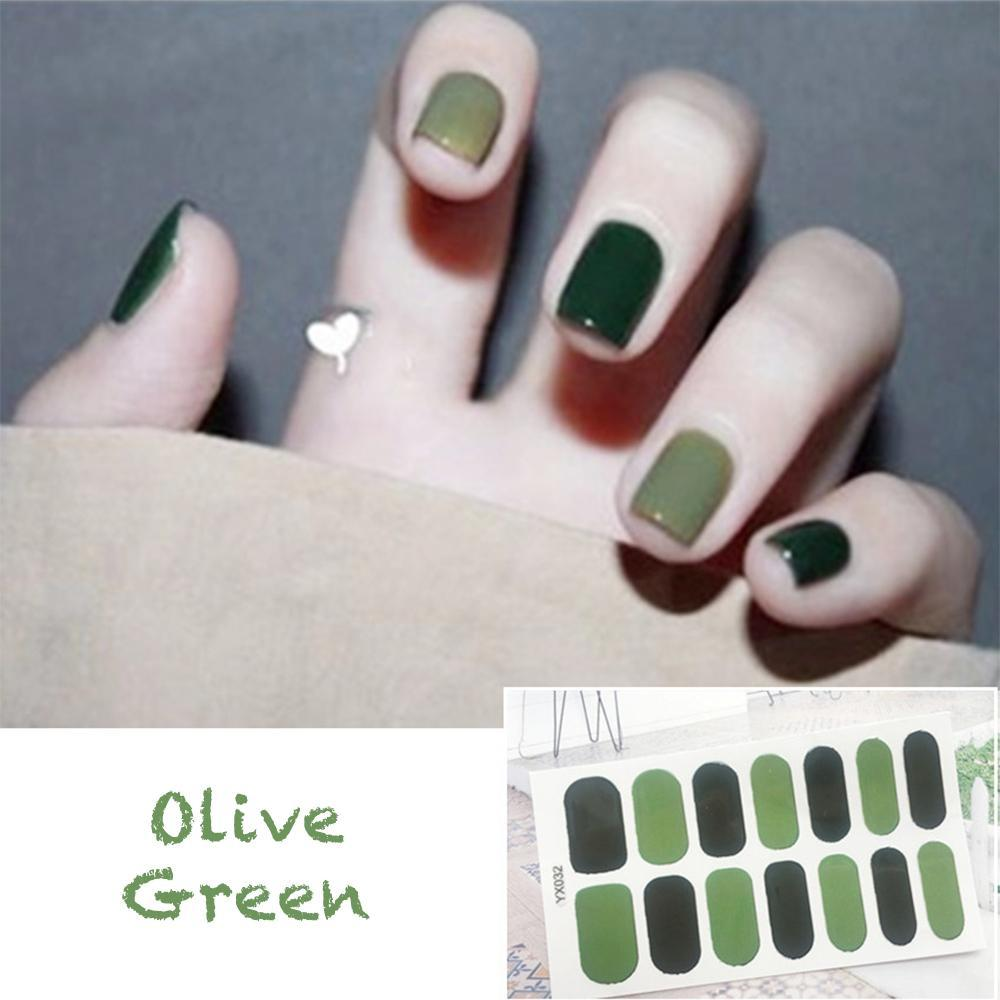 Gloss Gel Nail Strips - LimeTrifle