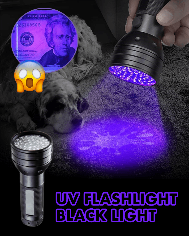 UV Flashlight Blacklight - LimeTrifle