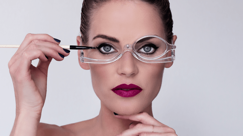 Rotatable Make Up Glasses - LimeTrifle
