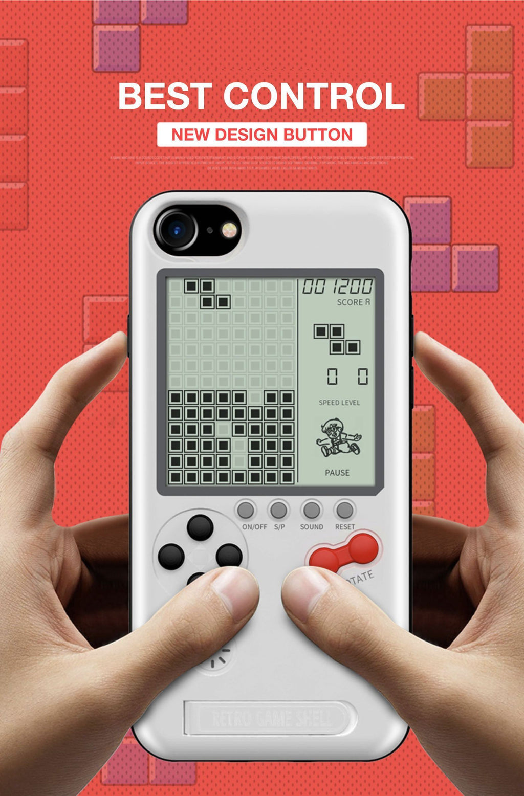 2 in 1 Game Boy Phone Case - LimeTrifle