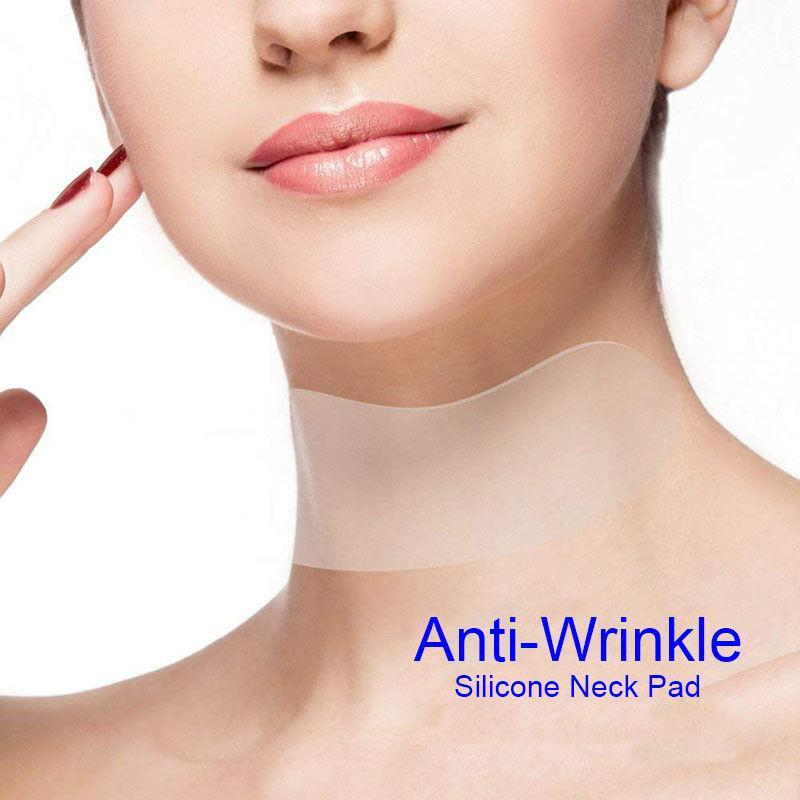 Anti-Wrinkle Reusable Silicone Care Neck Pad - LimeTrifle