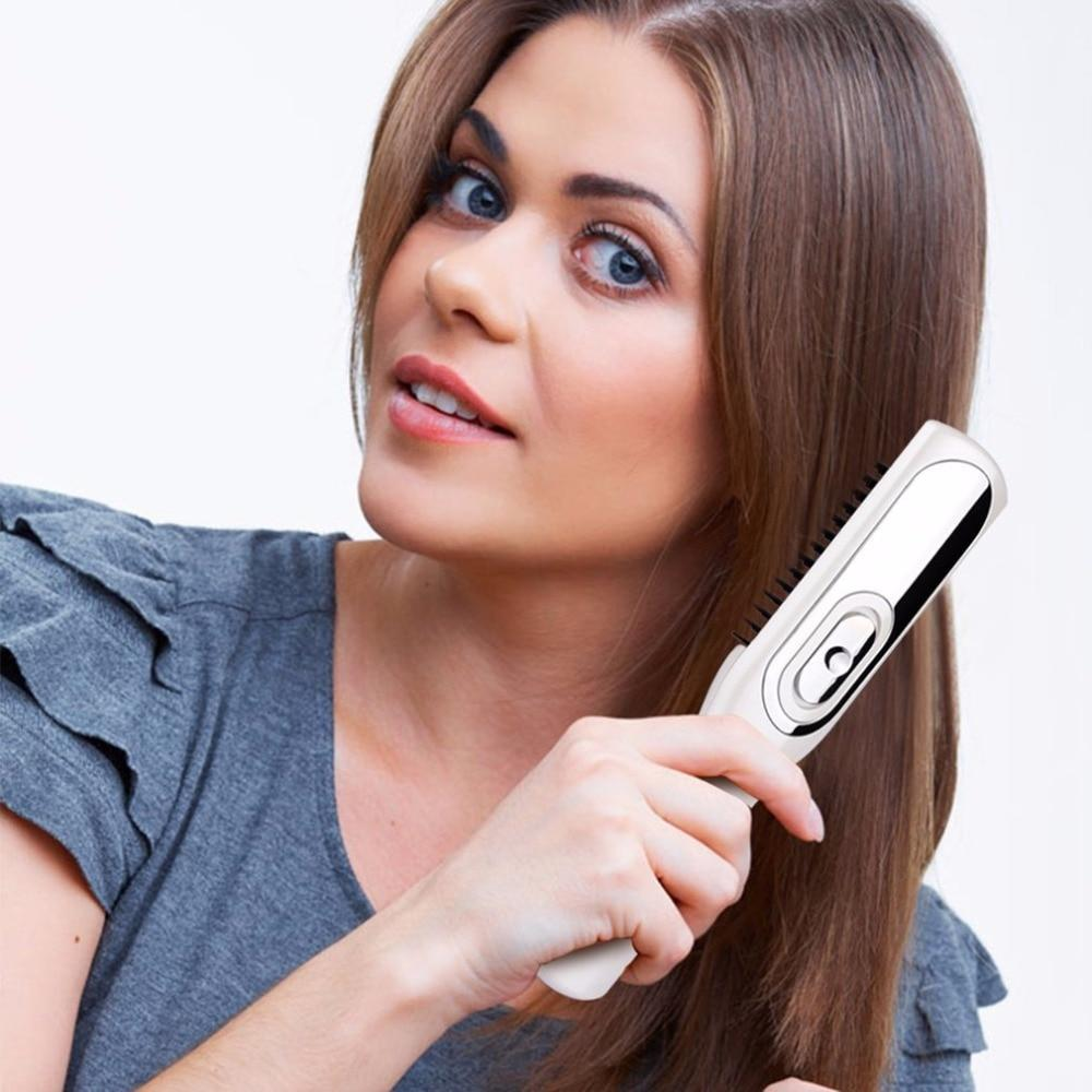 Hair Growth Infrared Therapy Brush - LimeTrifle