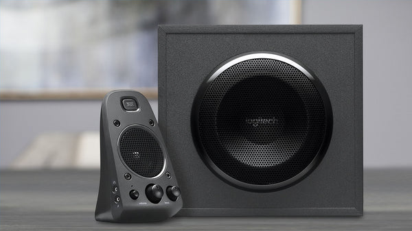 Logitech Z625 Speaker System with Subwoofer and Optical Input
