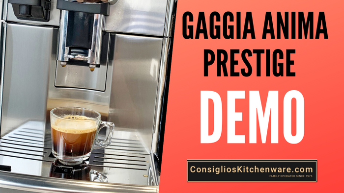 How to Make Perfect Espresso, Cappuccino and Lungo with Gaggia Anima Prestige USA