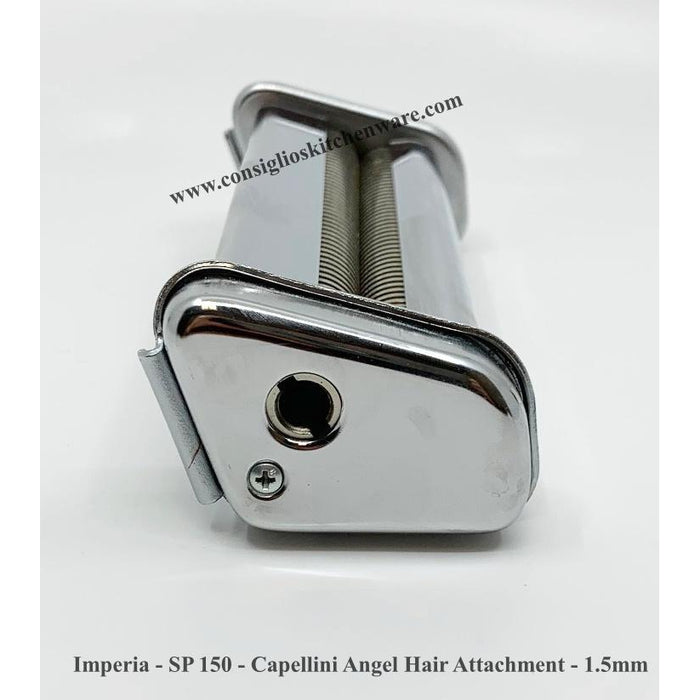 Imperia - SP 150 - Capellini Angel Hair Attachment - 1.5mm Handle Slot USA