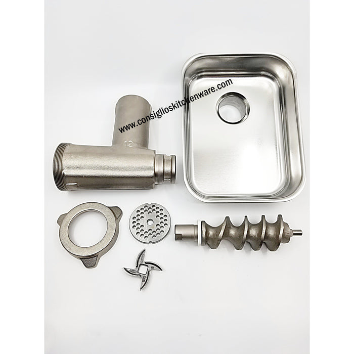 Fabio Leonardi TC12 Meat Grinder Attachment Parts Included USA