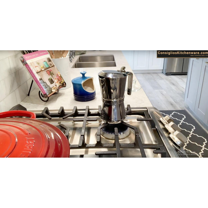 Giannina 3006010 Stove top espresso maker 6 cup USA