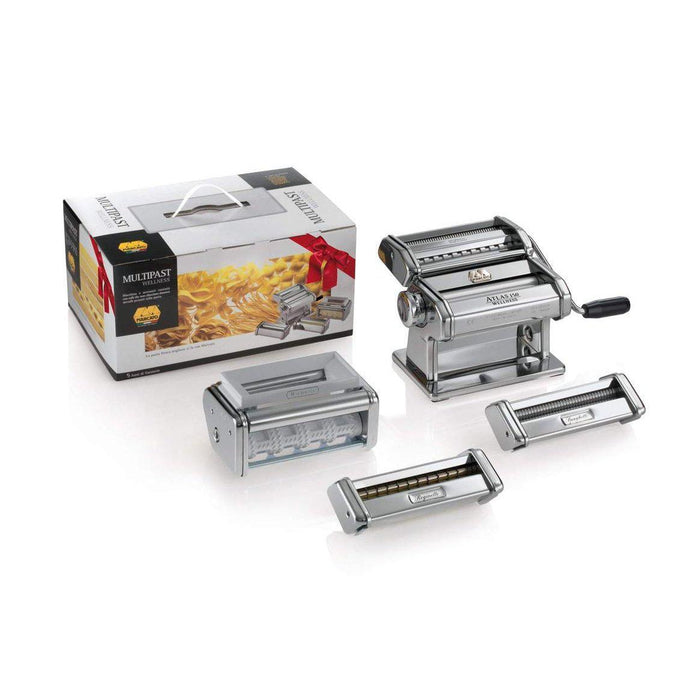 Marcato Atlas 150 Multipasta Wellness Pasta & Ravioli Maker Set BOX USA