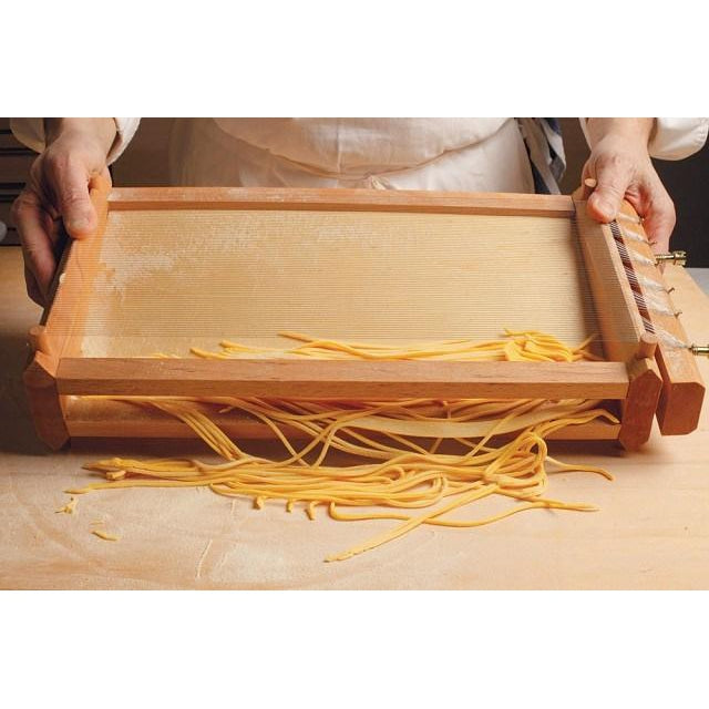 The Authentic Chitarra Pasta Maker Making Homemade Pasta USA