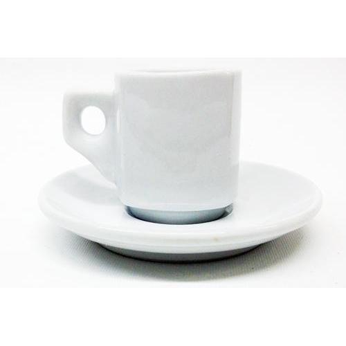 Armand Lebel 12 Piece Espresso Cup & Saucer Set - Plain Square White-Espresso Machines,Tabletop-us-consiglios-kitchenware.com-Consiglio's Kitchenware-USA