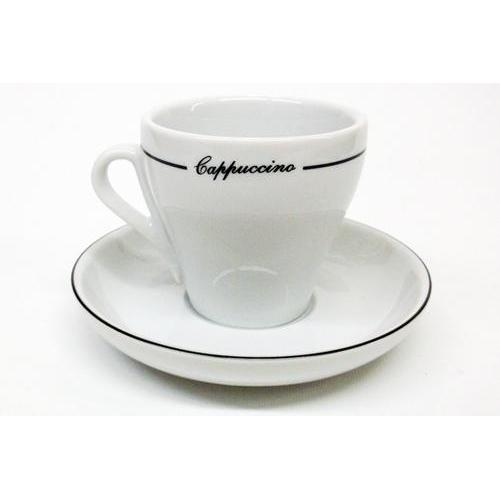 Armand Lebel Cappuccino 12 Piece Cup & Saucer Set - Tall Line Design-Espresso Machines-us-consiglios-kitchenware.com-Consiglio's Kitchenware-USA