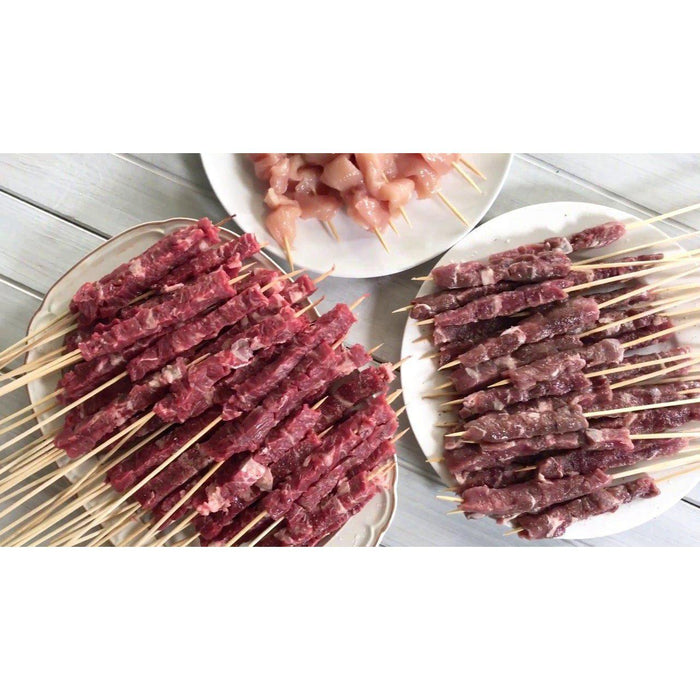 Extra Large Ultimate Spiedini / Arrosticini Kit - Spiedini Maker, BBQ & More!