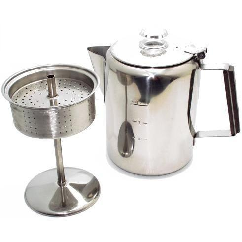 Coffee Percolator 3 Cup-Espresso Machines,Kitchenware-us-consiglios-kitchenware.com-Consiglio's Kitchenware-USA