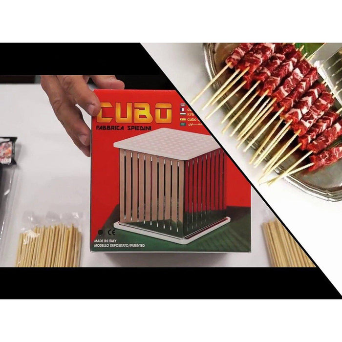 Cubo Italian Arrosticini Spiedini Maker USA