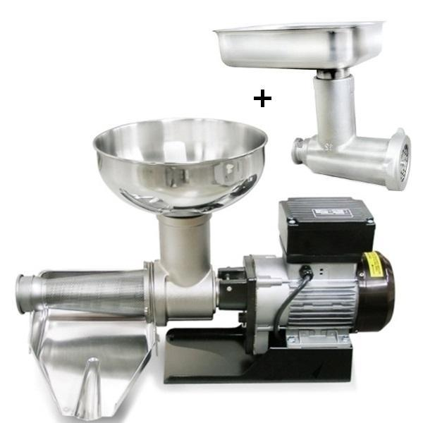 Fabio Leonardi MR9 1HP SP5 Tomato Machine + # 22 Meat Grinder Attachment Combo-Fabio Leonardi Tomato Machine,Kitchenware,Small Appliances,Specialty Food Prep-Fabio Leonardi-Consiglio's Kitchenware-USA