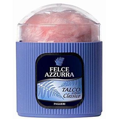 Felce Azzurra Classico 250g Body Powder With Fluff Applicator-Bath & Body-us-consiglios-kitchenware.com-Consiglio's Kitchenware-USA