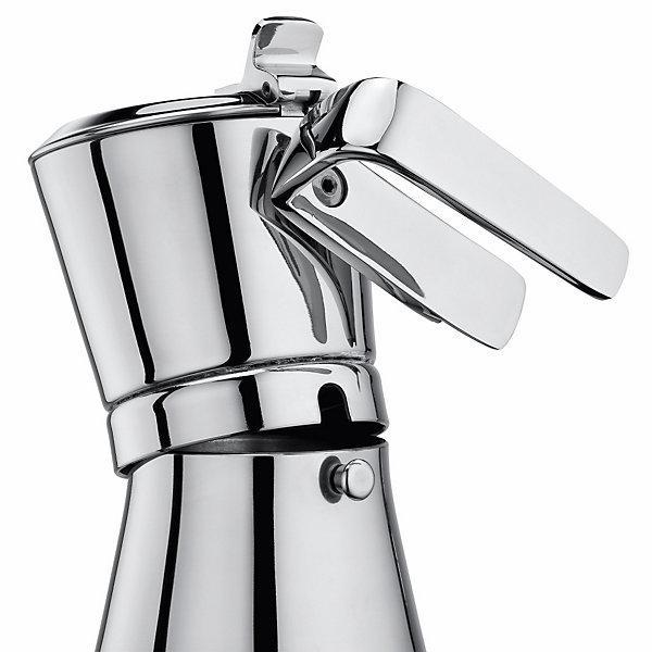 Giannina 6 cup Stainless Steel Stove Top Espresso Maker (Restyled Version)-Espresso Machines-Giannini-Consiglio's Kitchenware-USA