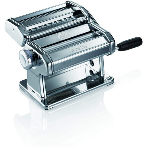 Marcato Atlas 150 Pasta Maker with Cutter, Hand Crank, and Instruction Manual