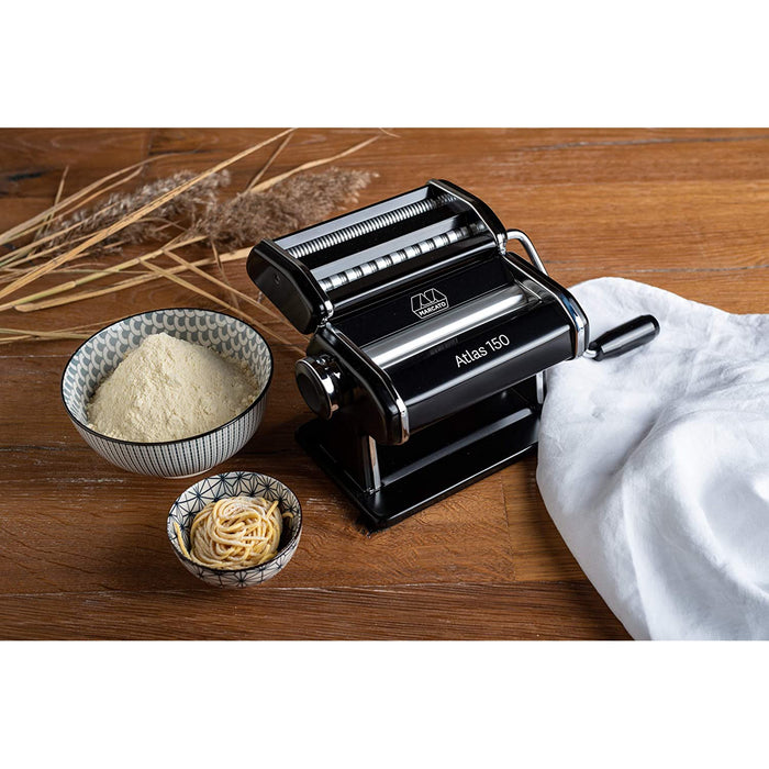 Marcato Atlas Black 150mm Wellness Pasta Maker