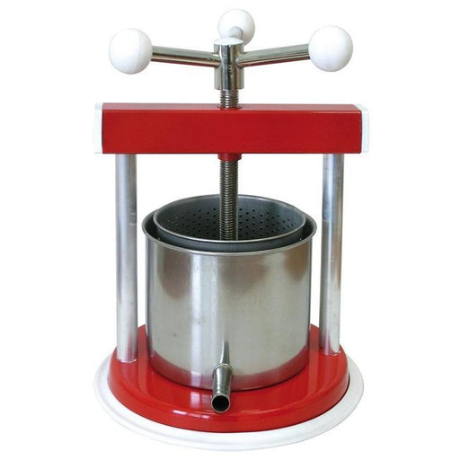 "MEDIUM VEGETABLE / FRUIT PRESS 6"" - 3QT (TORCHIETTO)-Kitchenware,Specialty Food Prep-Torchietto-Consiglio's Kitchenware-USA"