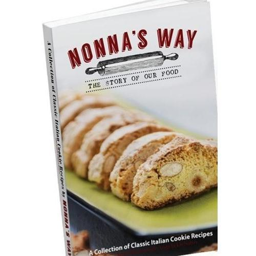 Nonna's Way: A Collection of Italian Cookie Recipes-Tabletop-us-consiglios-kitchenware.com-Consiglio's Kitchenware-USA