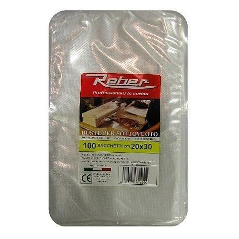 Reber Vacuum Bags / 20 X 30 CM / 100 Bags-Small Appliances,Specialty Food Prep-Reber-Consiglio's Kitchenware-USA