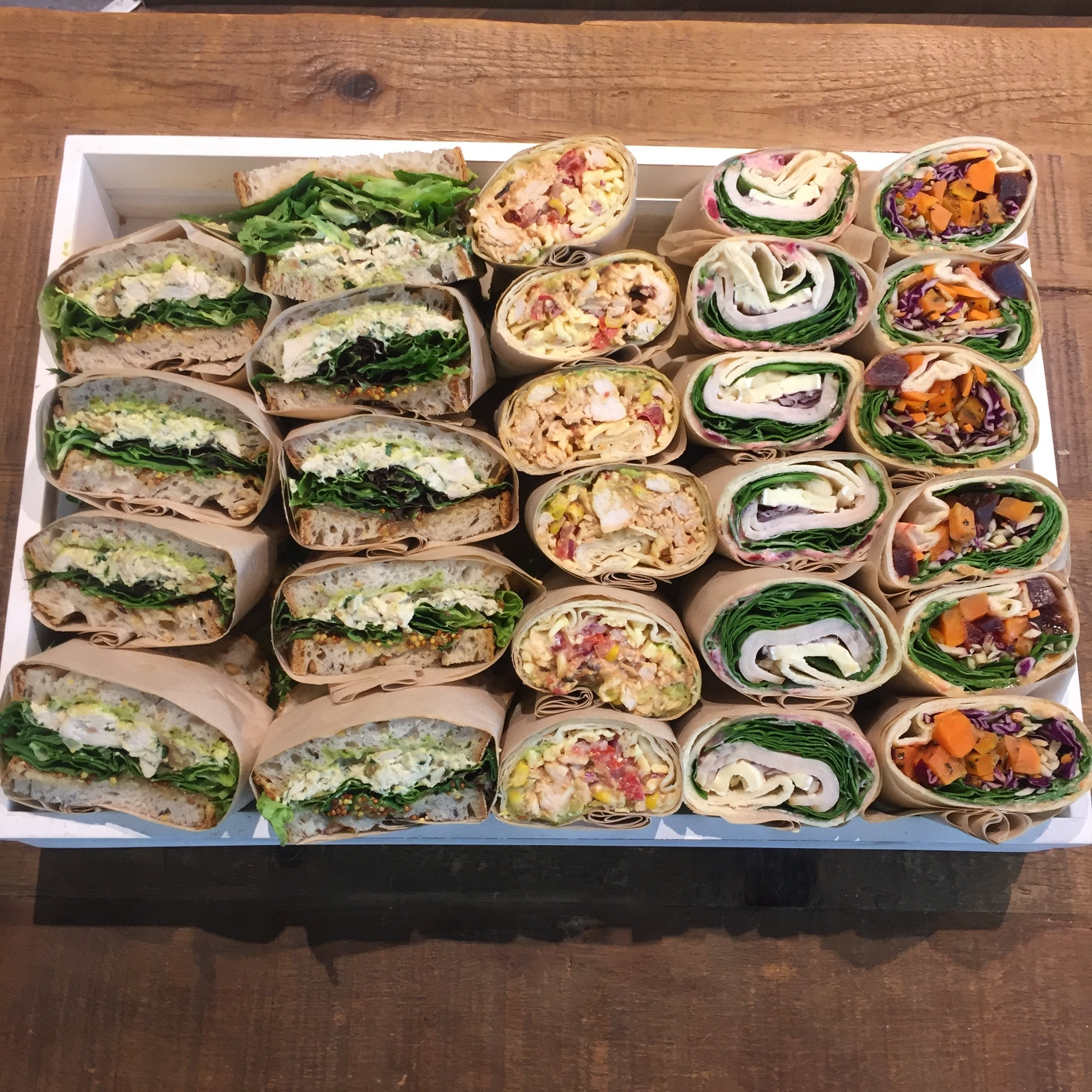 Sandwich/Wrap Platter + Finger Food