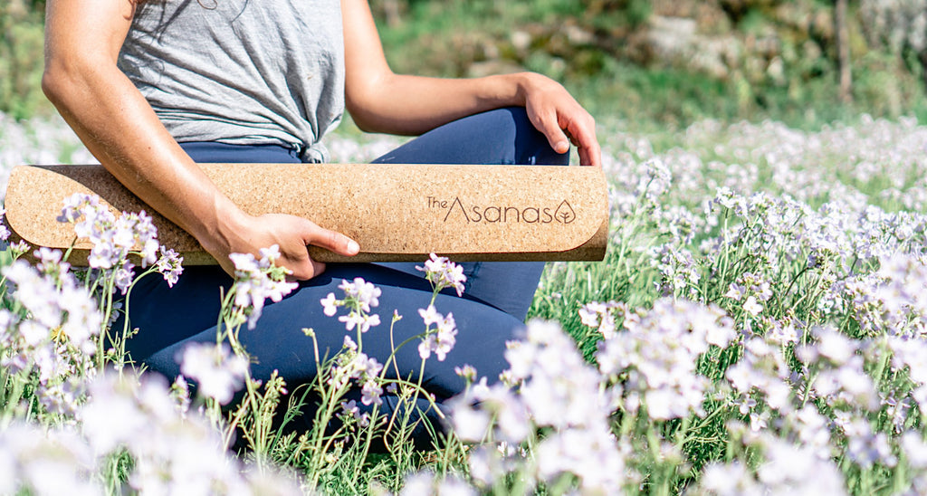 how to clean cork yoga mat