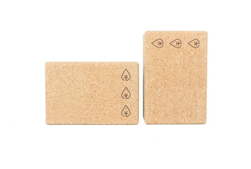 cork block, yoga block
