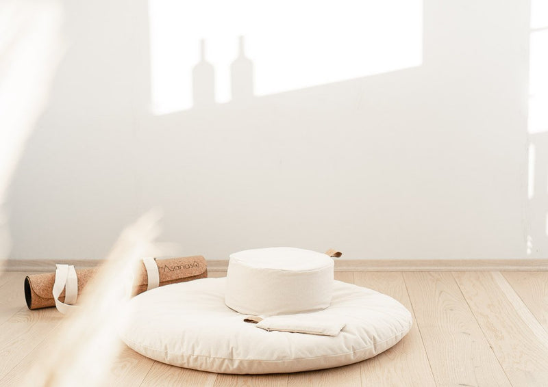 The Calm Cloud - Support Cushion - White Naturelle