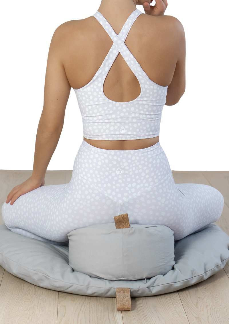 The Calm Cloud -Support Cushion - Soft Grey